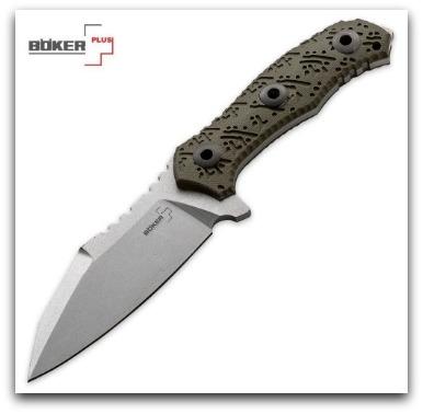 Boker Colubris 440C Knife