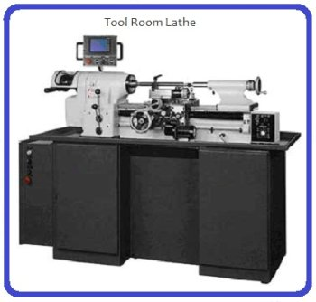 Lathe for machining tool steel