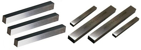 A selection of M-2 and PM T-15 high speed steel tool bits
