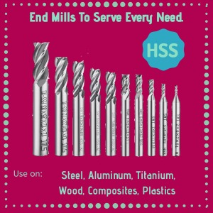 High speed steel cutting tools for CNC