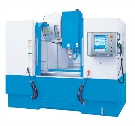CNC machining center used in the tooling industry